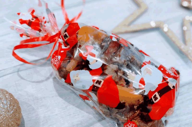 christmas fudge gift bag