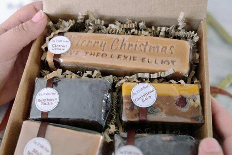 christmas fudge box set