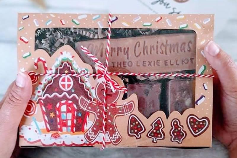 christmas fudge gifts
